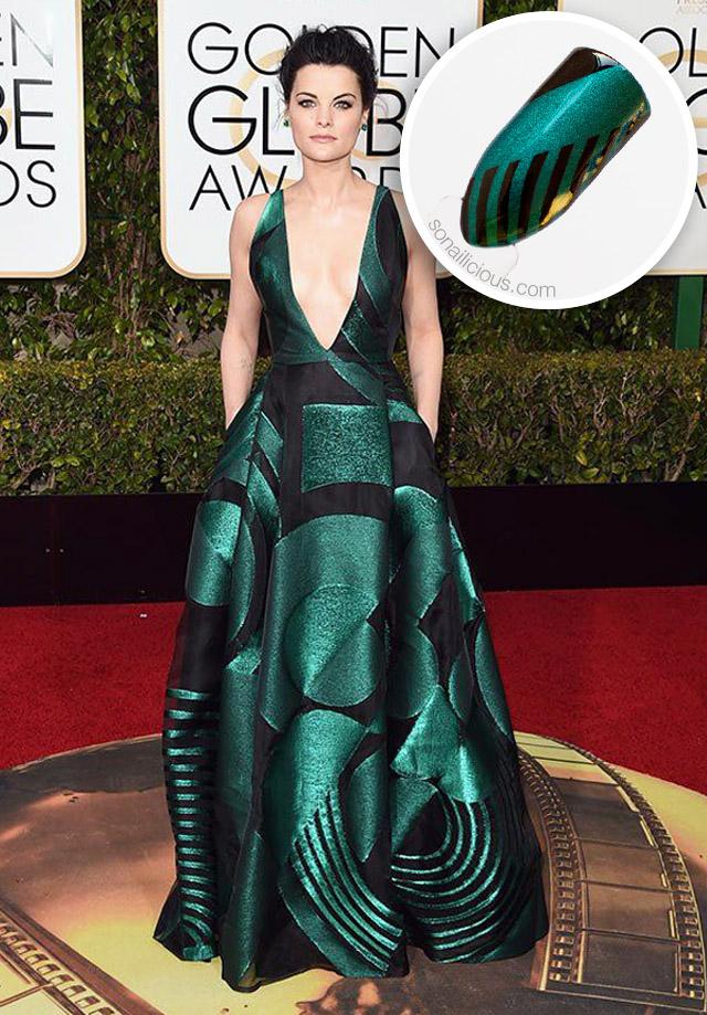 JAIMIE Alexander Golden Globes 2016