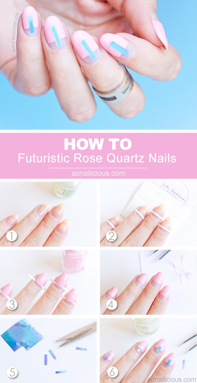 futuristic nails how to
