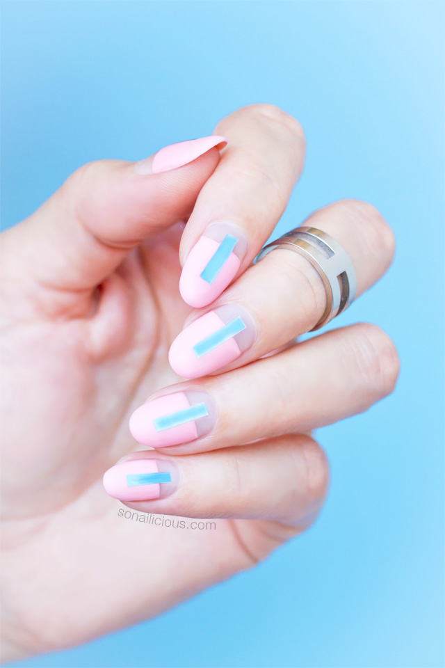 Futuristic Rose Quartz Nails Tutorial