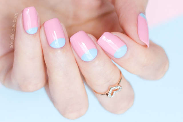 pantone color of the year 2016 rose quartz and serenity nails