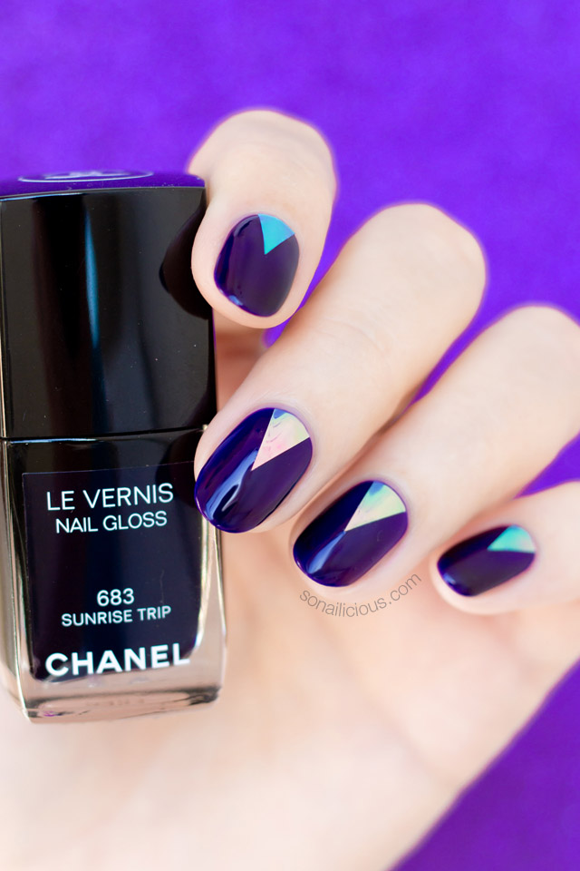 chanel sunrise trip nail gloss review