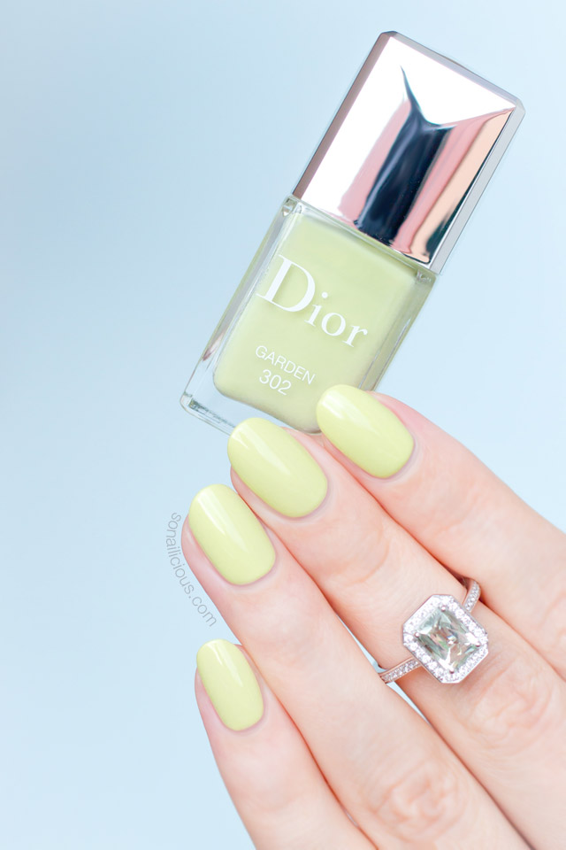 dior garden swatches review