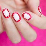 Tutorial: Easy Valentine's Day Nail Art