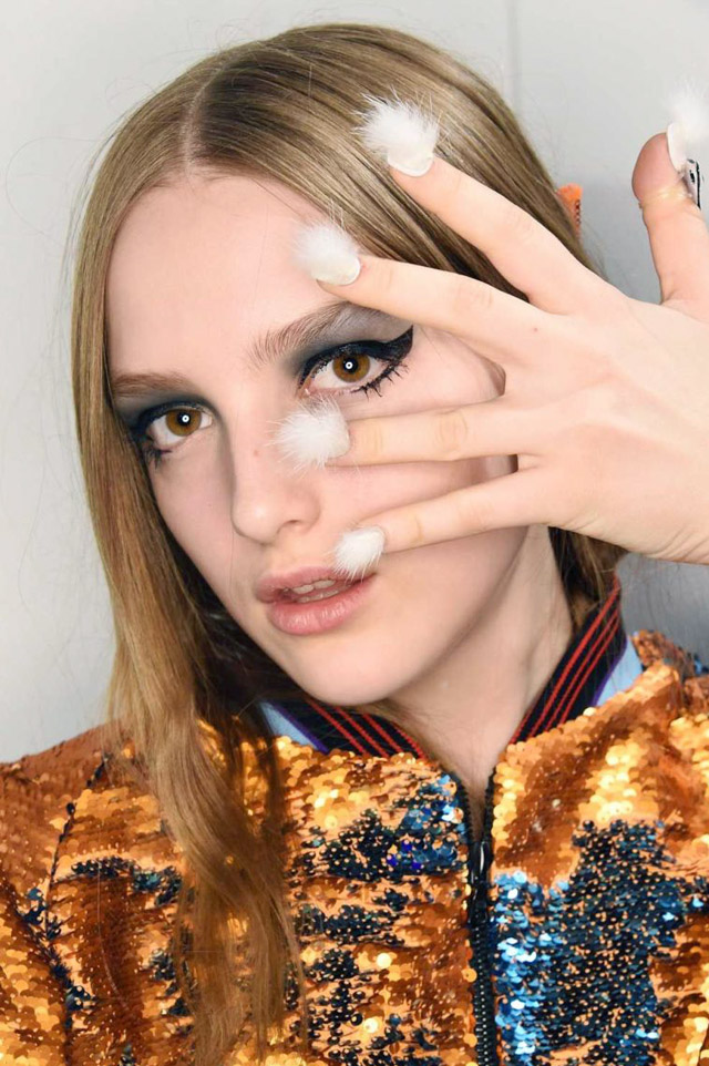 nail trends, Libertine New York Fashion Week Fall 2016