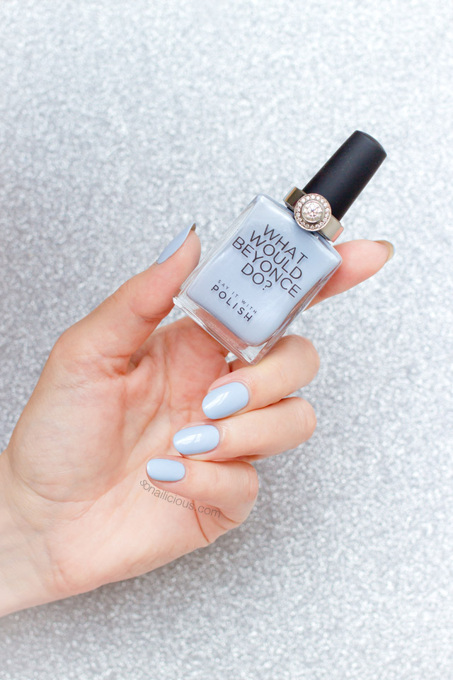say it with polish blue savvy blue