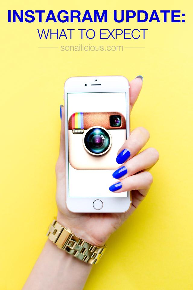 Instagram update, new instagram algorythm