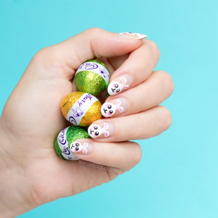 cute easter nails, easter nail art