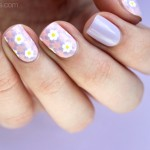 Tutorial: Pastel Mosaic Easter Nail Art