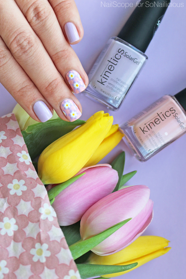 pretty easter nail art