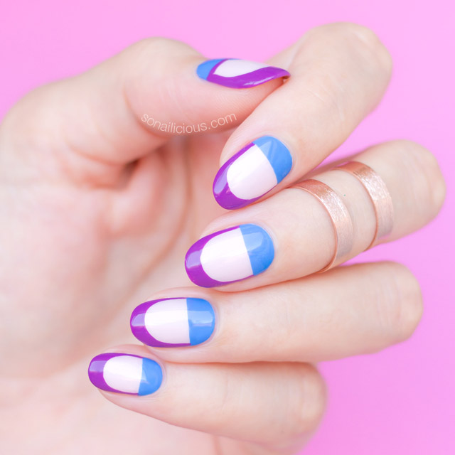 spring nail art, minimalist spring nails