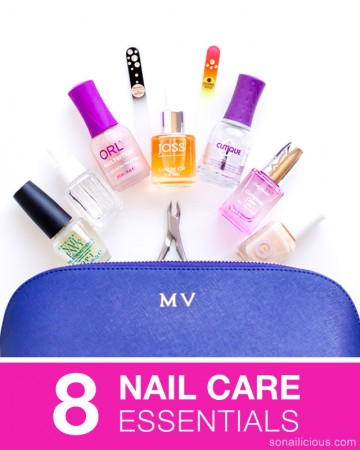 8 nail care essentials, nail care