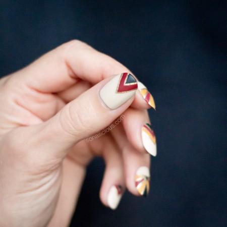 Givenchy Nails, art deco nails, NAFW 2016