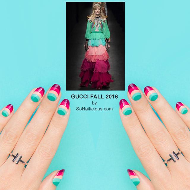 Gucci Nails, NAFW 2016