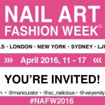 Your Invite To Nail Art Fashion Week 2016!