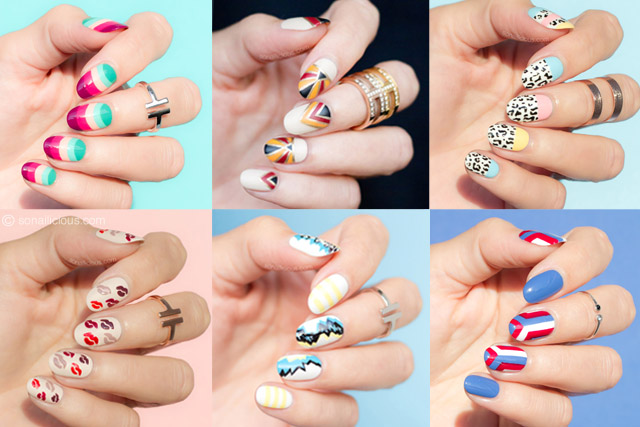 nail art lessons, nail art fashion week 2016