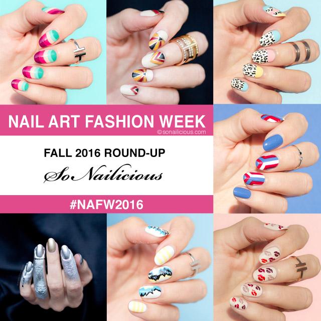 nail art lessons, nail art fashion week 2016