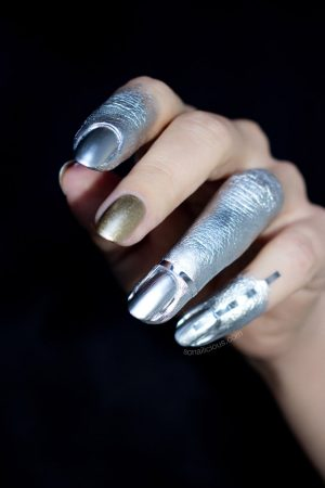 silver nails, Marian Newman, 3
