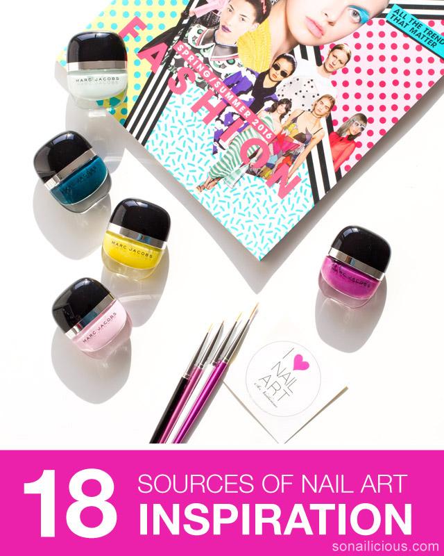 18 ways to find fresh nail art inspiration