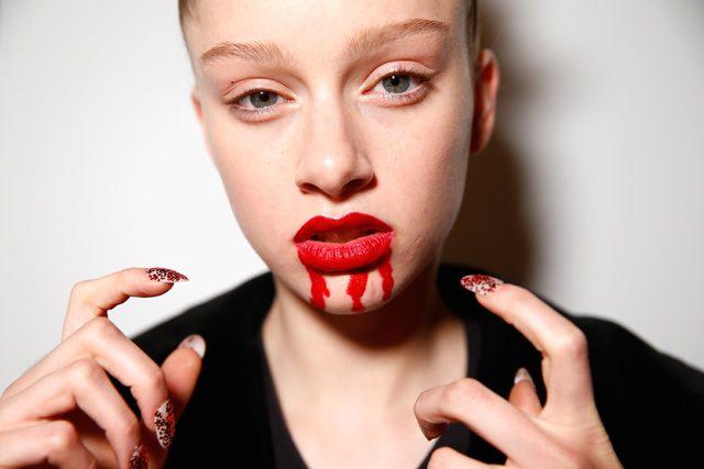 nails, makeup at Discount Universe, mbfwa 2016
