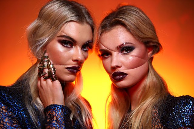 makeup and nails Zhivago 2016- Backstage - Mercedes-Benz Fashion Week Australia 2016