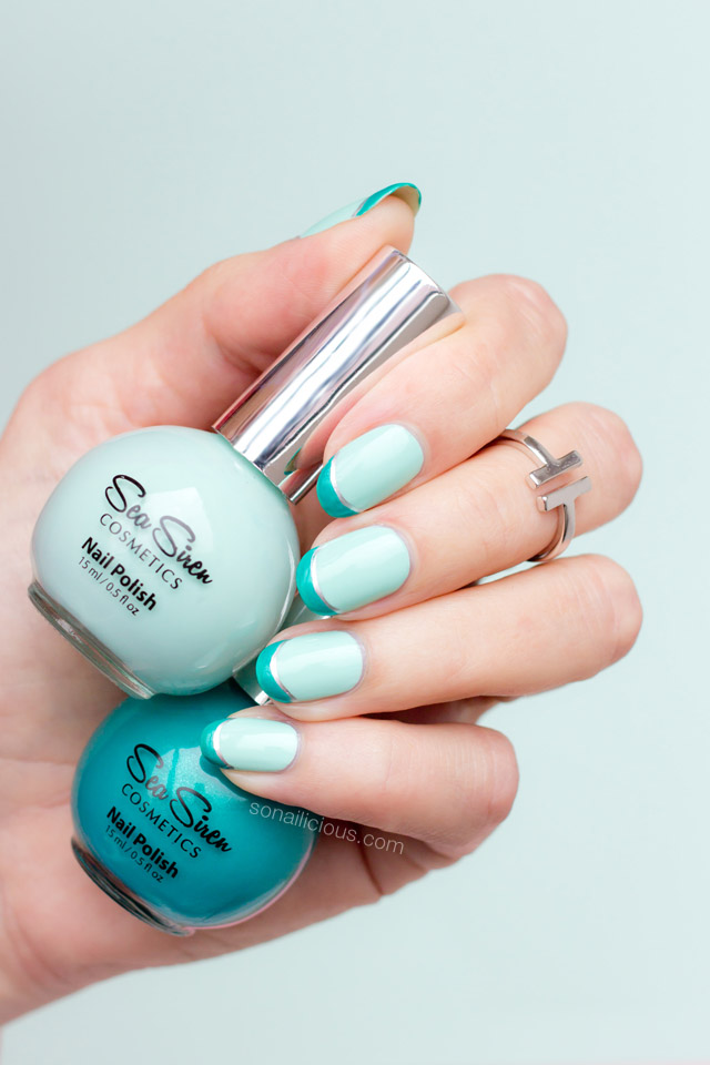 mint nails, sea siren motion of the ocean