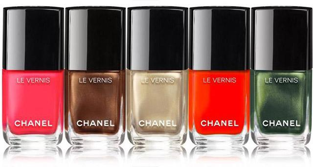 Chanel summer 2016 nail polish collection