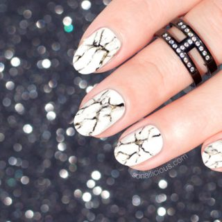 how to do marble nails, marble nail art