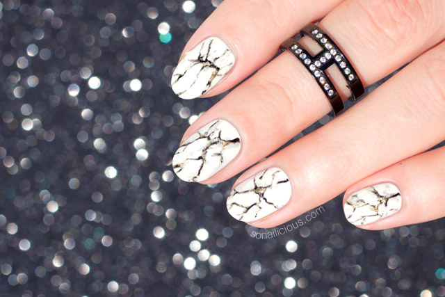 how to do marble nails like a pro