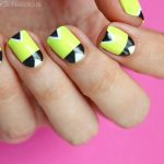 Tutorial: Geo Neon Nails