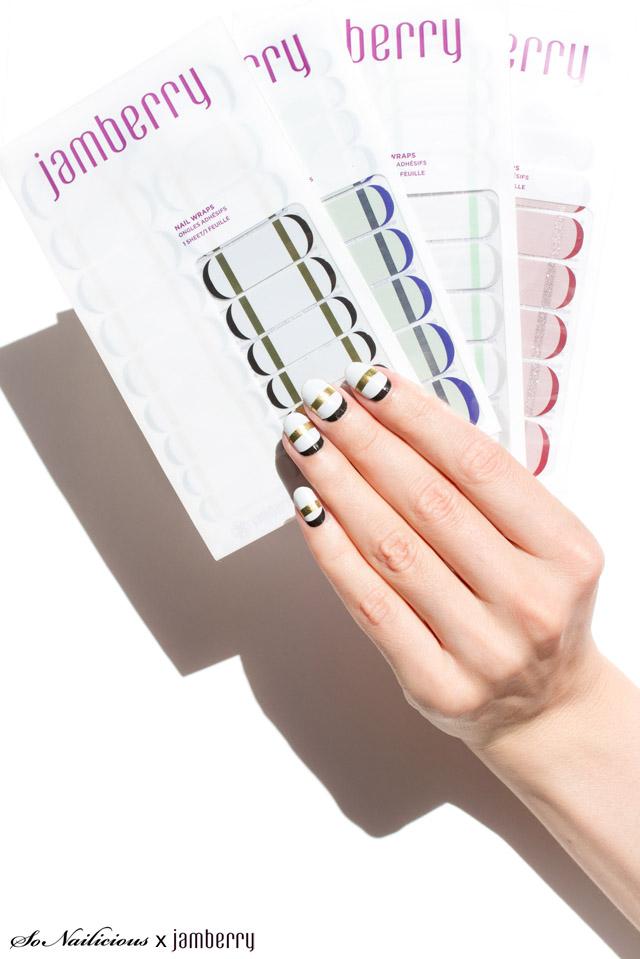 sonailicious x jamberry nail wraps