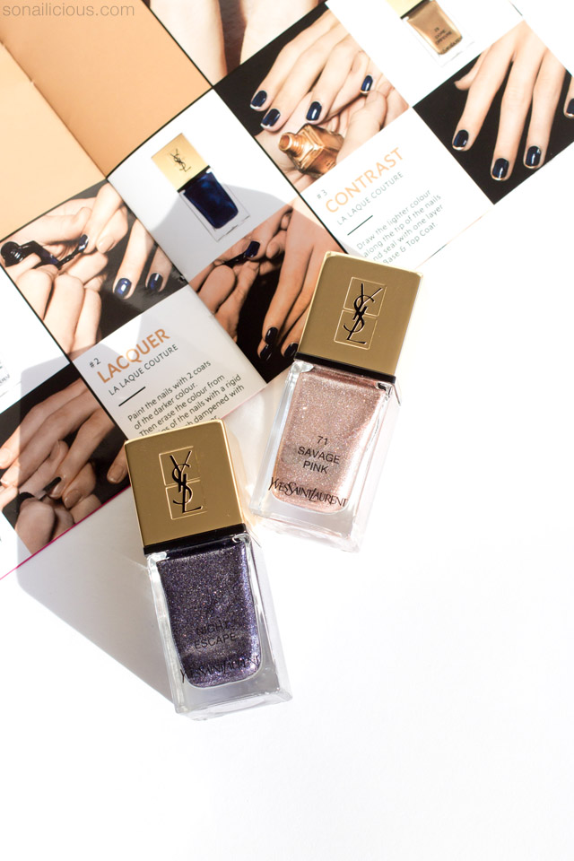 YSL summer 2016 Nail Polishes