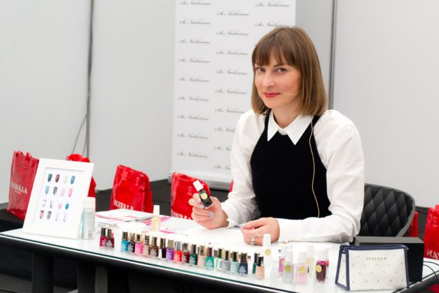 nail art workshop, beauty expo australia, mavala australia