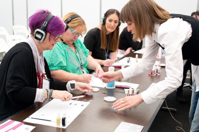 nail art workshop, maria vlezko, 2
