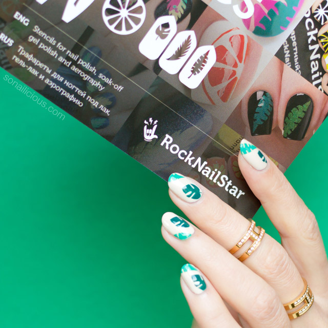 tropical nails, rocknailstar vinyls