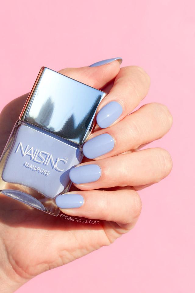 nails inc nailpure regents place swatch
