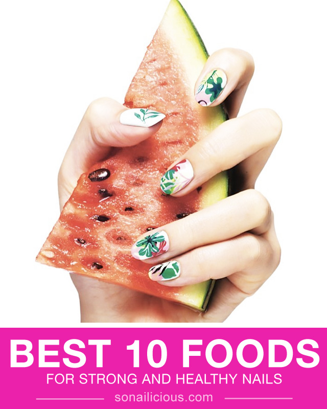 strong nails, best foods for strong nails