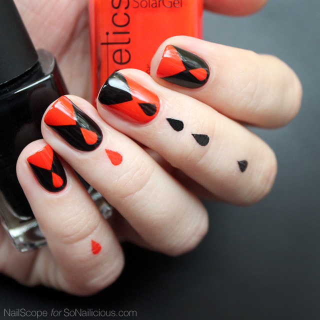 dripping blood halloween nails, halloween nail art