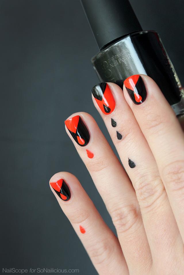 halloween nails, halloween nail art