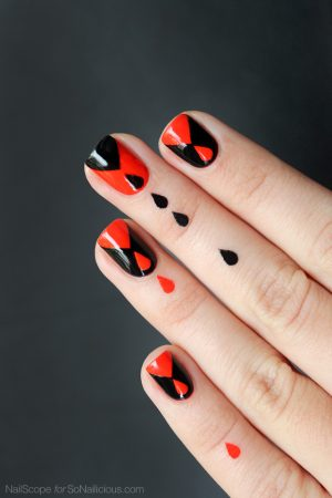 halloween nail design, halloween nails