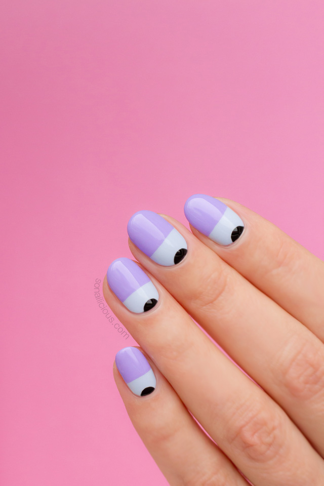 purple-nails-two-toned-nails