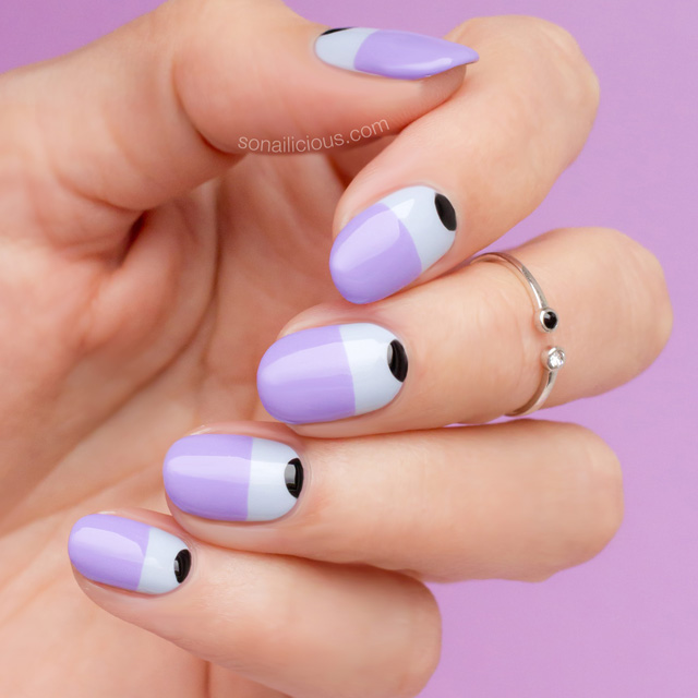 two-tone-nails-purple-nails