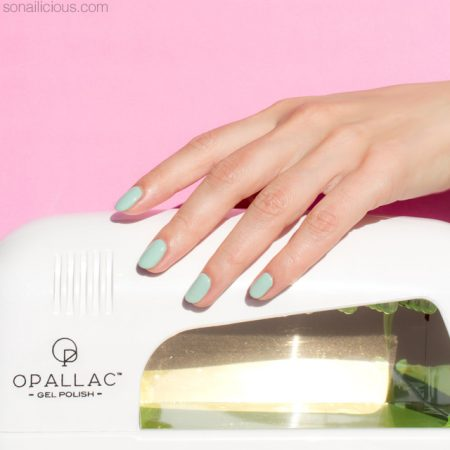 opallac gel polish, how to do gel nails at home