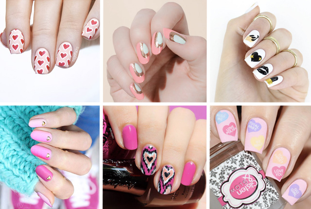 12 valentines day nail designs