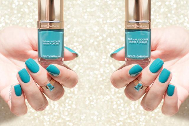 Dolce and gabbana nail polish review, dolce gabbana turquoise