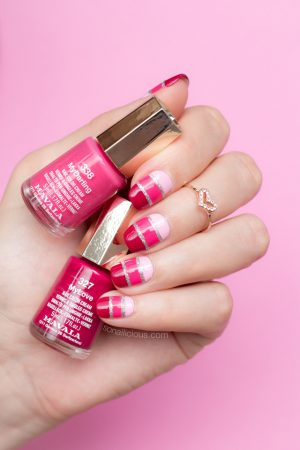 mavala nail polish, valentine's day nails