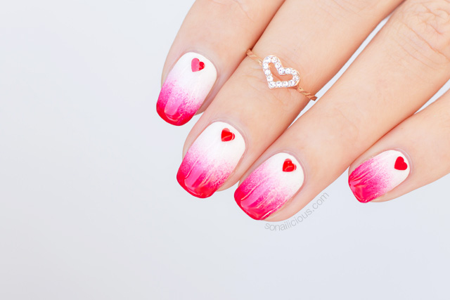 valentines nail art the sonailicious s nails 2017 nails of the day 13226