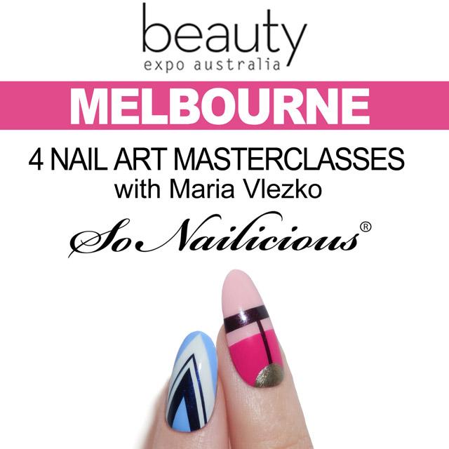 4 nail art masterclasses in Melbourne