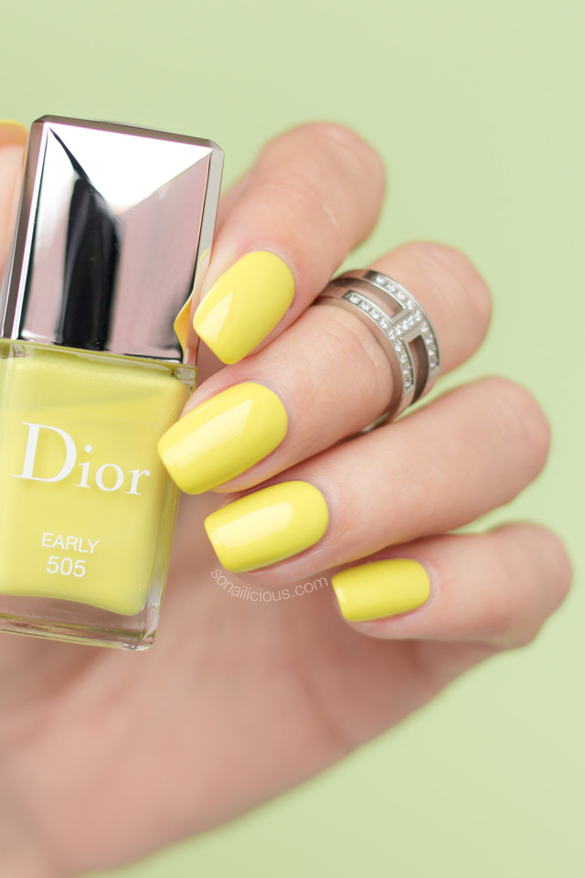 dior early swatch, review