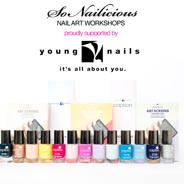 sonailicious nail art workshop, young nails australia