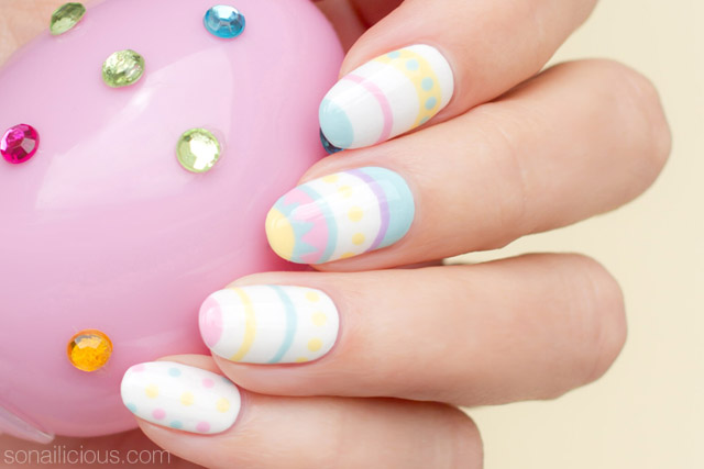 easter nail design, easter nail art